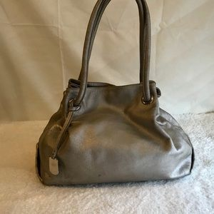 Furla metallic handbag